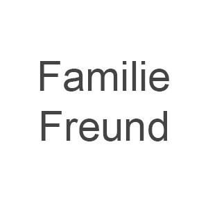 Familie Freund