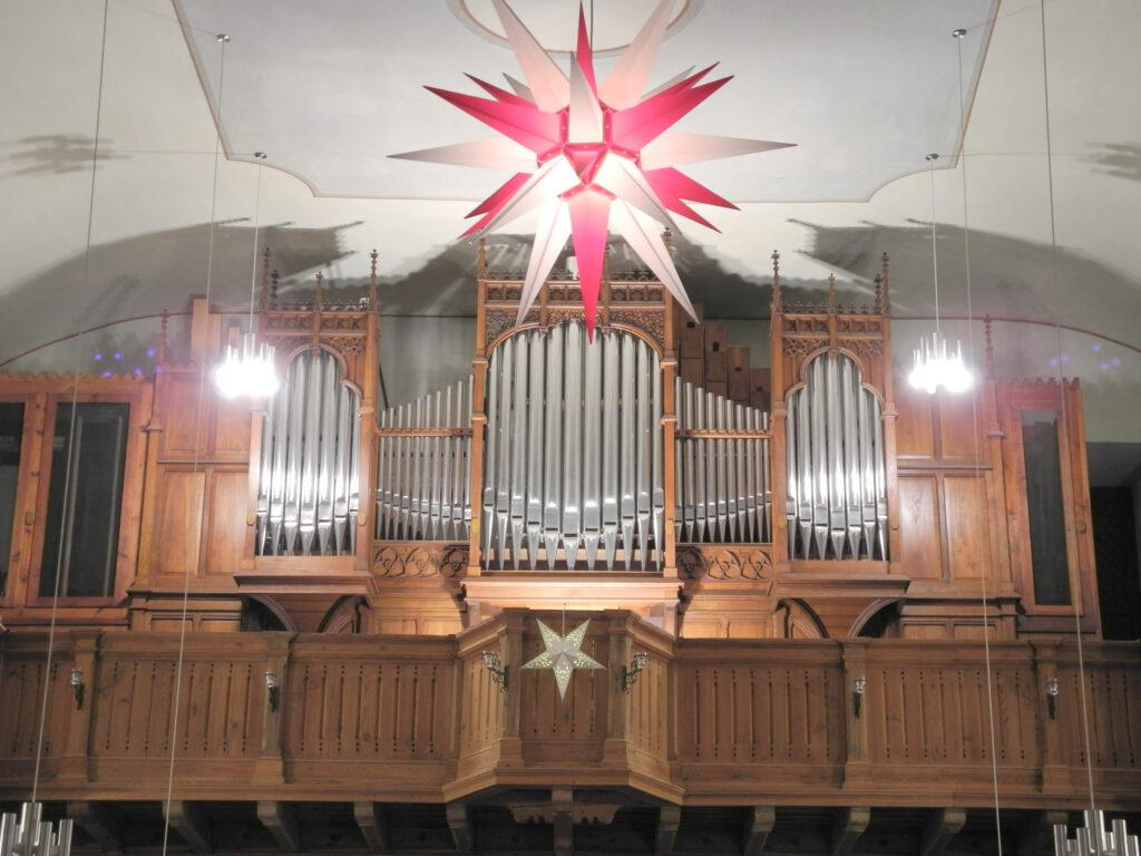 Die Orgel der St. Laurentiuskirche Markranstädt