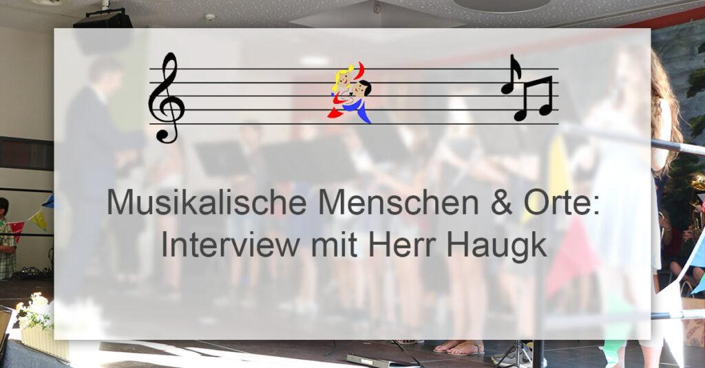 Teaser Interview Herr Haugk